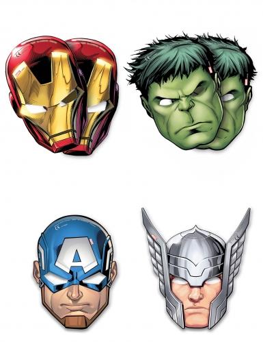 6 Máscaras de cartão Avengers Mighty™