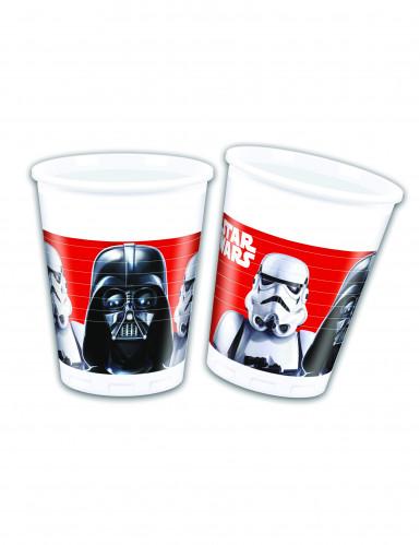 8 Copos de plástico Star Wars Final Battle™
