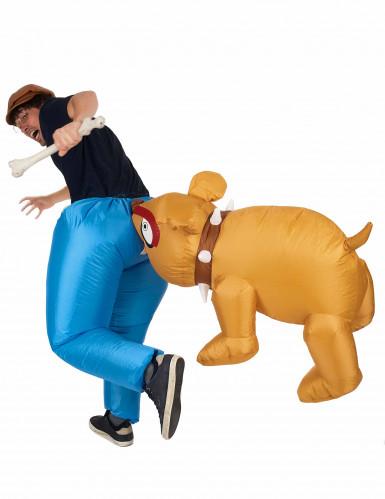 Difarce Bulldog insuflável adulto-2