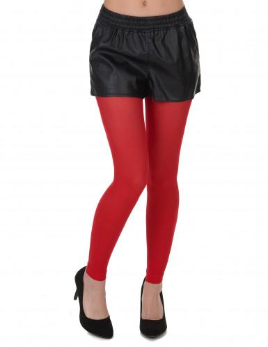 Legging vermelho adulto