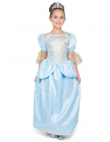 Disfarce princesa ao sapato de vidro menina