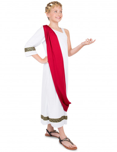 Disfarce imperatriz romana menina