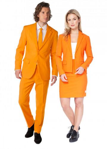 Disfarce de casal Opposuits cor de laranja