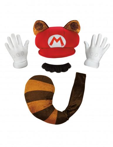 Kit Mario guaxinim Nintendo® - adulto