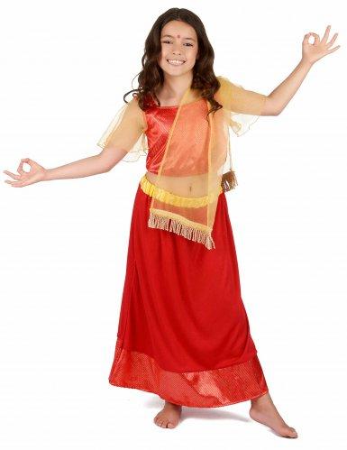 Disfarce Princesa Dançarina Bollywood menina