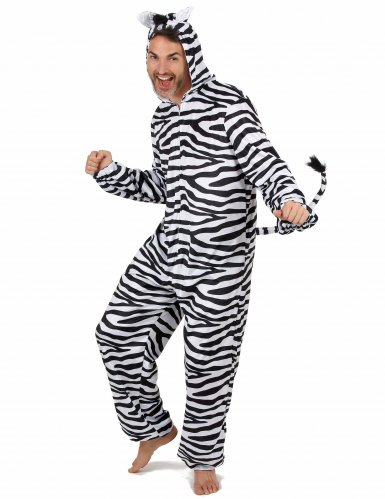 Disfarce de Zebra homem-1