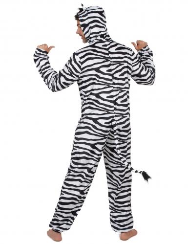 Disfarce de Zebra homem-2