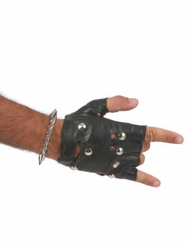 Bracelete Punk prateado- adulto-2