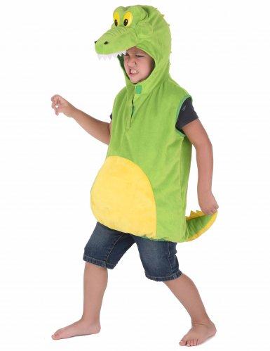 Disfarce de crocodilo criança-1