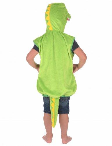 Disfarce de crocodilo criança-2