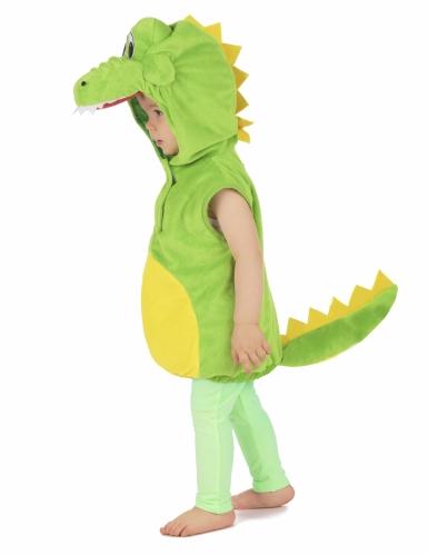 Disfarce de crocodilo criança-3