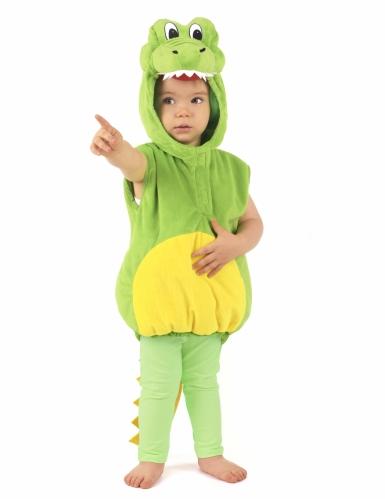 Disfarce de crocodilo criança-4