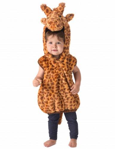 Disfarce girafa sem mangas criança-1