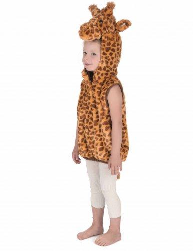 Disfarce girafa sem mangas criança-2