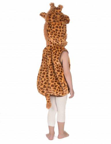Disfarce girafa sem mangas criança-3