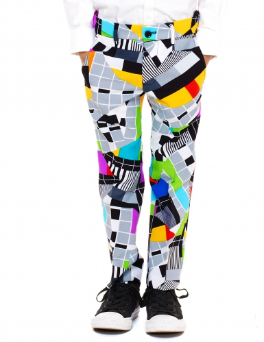 Fato Mr. Technicolor criança Opposuits™-2