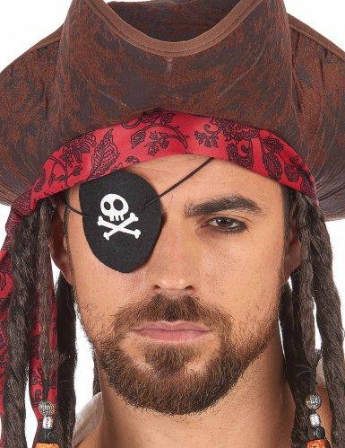 Tapa-olho pirata feltro - adulto-1
