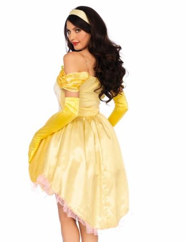 Disfarce princesa mágica amarela mulher-1