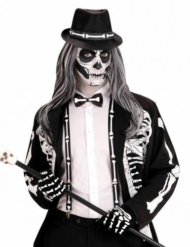 Kit gentleman esqueleto adulto Halloween-1