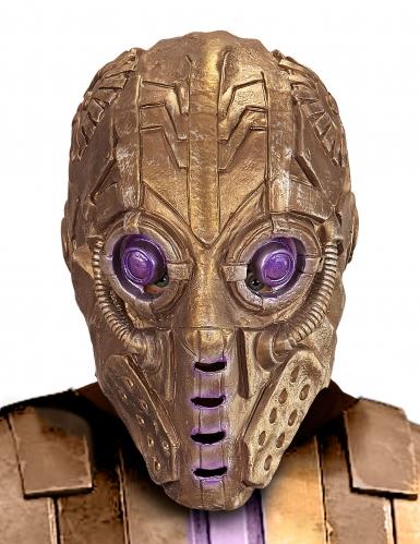 Máscara integral de robô para adulto