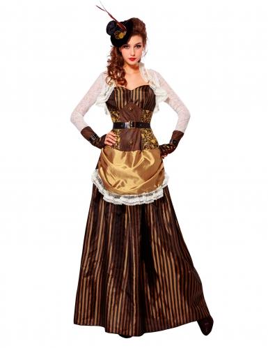 Disfarce nobre barroco mulher Steampunk