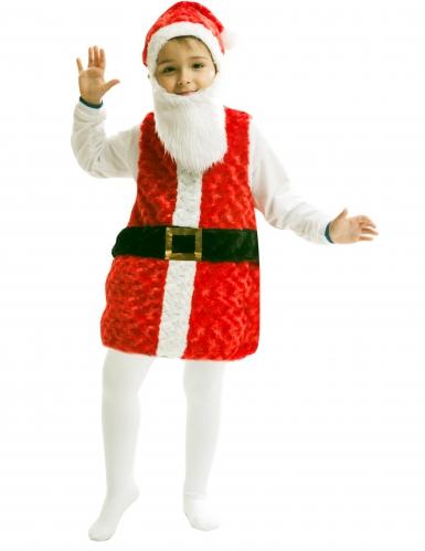 Disfarce Pai Natal criança