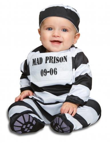 Disfarce prisioneiro bebé