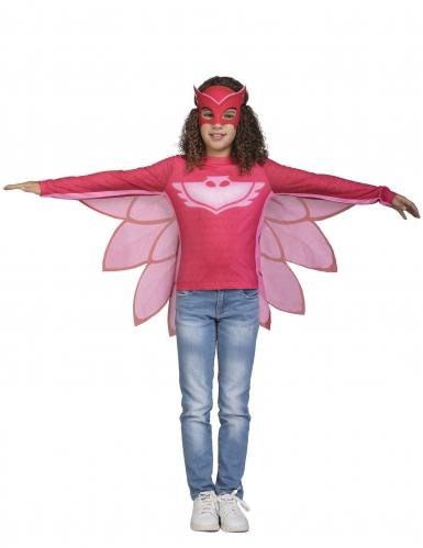 Disfarce Bibou Owlette Pj Masks™ criança-1