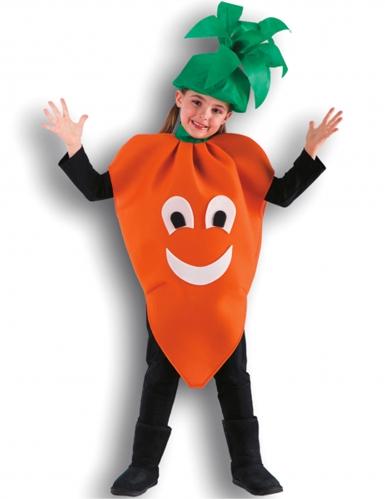 Disfarce cenoura menina