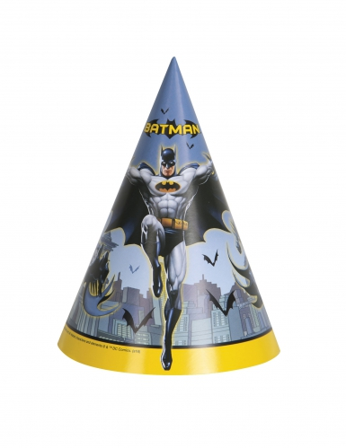 8 Chapéus de festa Batman™