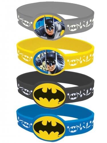4 Pulseiras elásticas Batman™