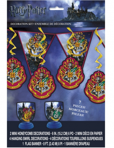 Kit de decorações Harry Potter™ 7 peças-1