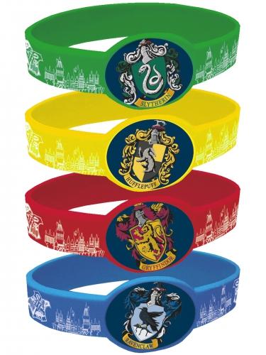 4 Pulseiras elásticas Harry Potter™