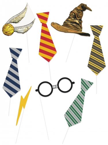 Kit photobooth 8 acessórios Harry Potter™
