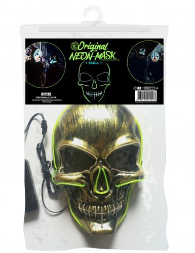 Máscara de néon esqueleto-1