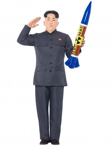 Disfarce ditador coreano homem