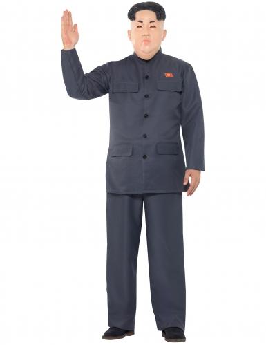 Disfarce ditador coreano homem-1