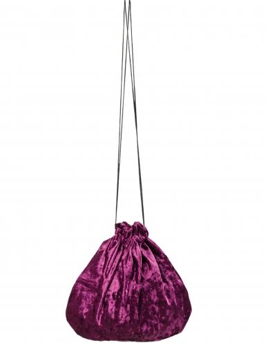 Bolsa veludo lilás 27 cm