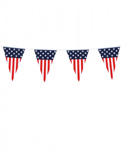 Grinalda de bandeirolas USA 6 m