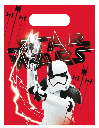 6 sacos de festa Star Wars VIII The Last Jedi™
