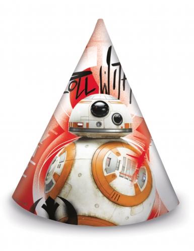 6 Chapéus de festa Star Wars VIII The Last Jedi™