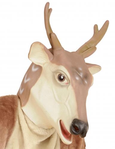 Máscara de rena látex Natal