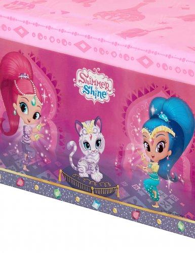 Toalha de plástico Shimmer & Shine™-1