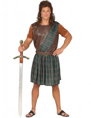 Disfarce Escocês verde - homem