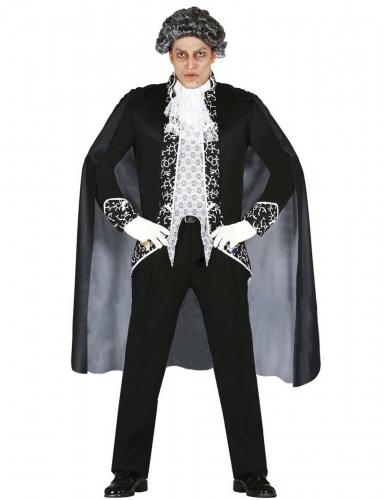 Disfarce fantasma barroco homem Halloween