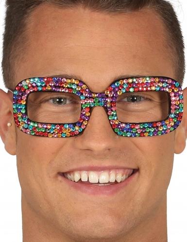 Óculos pop coloridos adulto
