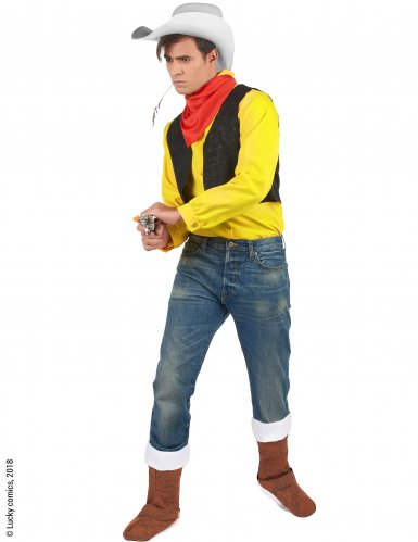 Disfarce Lucky Luke™ adulto-1