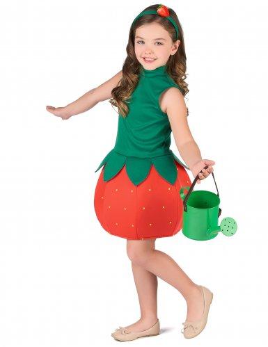Disfarce vestido morango menina-1