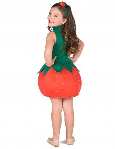 Disfarce vestido morango menina-2