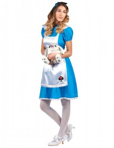 Disfarce Alice no País das maravilhas mulher-1